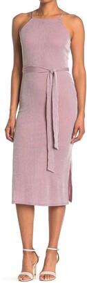 19 Cooper Sleeveless Stripe Print Knit Dress