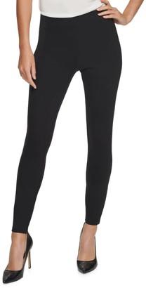 Donna Karan Ponte Pull-On Skinny Pants