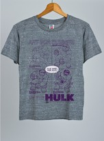 Junk Food Clothing Kids Boys Hulk Art For Dummies Tee-steel-m