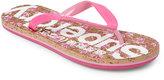 Superdry Pink Printed Cork Flip Flops