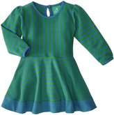 Little Green Radicals Striped Forever Dress (Baby) - Green-6-9 Months