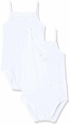 Chicco Baby Girls' Set 2 Body Bimba Con Spallina Stretta Bodysuit