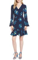 Draper James Women's Magnolia Mockingbird Bell Sleeve A-Line Dress