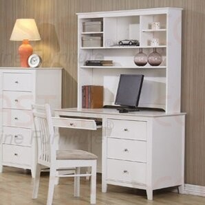 Beachcrest HomeTM Clarendon Computer Desk with Hutch Beachcrest Home