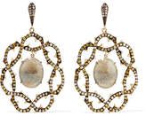 Loree Rodkin 18-karat Gold, Sapphire And Diamond Earrings