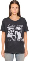 R 13 Sonic Youth Printed Jersey T-Shirt