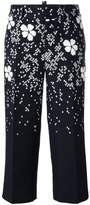 DSQUARED2 floral blossom cropped trousers