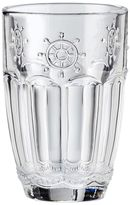 Global Amici Shipyard Wheel 4-pc. Highball Glass Set