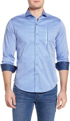 Robert Graham Voyeur Regular Fit Stripe Button-Up Shirt