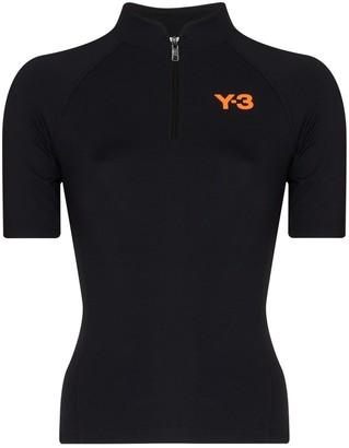 Y-3 Logo-Print Performance Top