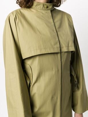 Salvatore Ferragamo Belted Trench Coat