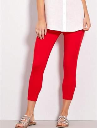 M&Co Button trim cropped leggings