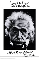 Poster Revolution Einstein: God's Thoughts Poster Print, 24x36
