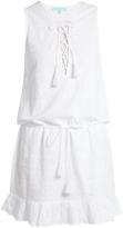 Melissa Odabash Layla embroidered cotton dress