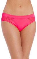DKNY Mesh Effect Splice Bikini Bottom