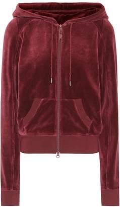 Rihanna Fenty By Hooded velour jacket