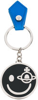 Vivienne Westwood smiley keyring - unisex - Leather/metal - One Size