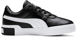 Puma Kid's Cali PS Leather Sneakers
