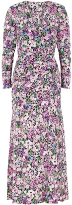 Bec & Bridge Anais Floral-print Silk Maxi Dress