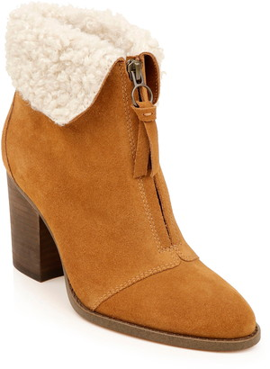 Splendid Kiley Bootie with Faux Shearling Trim