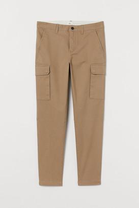 H&M Skinny Fit Cargo Pants