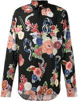 Saint Laurent printed shirt - men - Viscose - 39