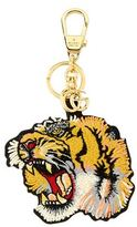 Gucci Embroidered Tiger Keyring