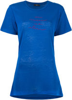 Diesel 'T-Sully' long embroidered T-shirt