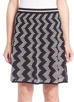 M Missoni Vertical Zigzag Skirt