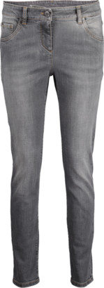 Brunello Cucinelli Five Pocket Front Zip Garment Dyed Jean