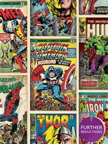 Marvel Graham & Brown Comics Strip Wallpaper - Multi