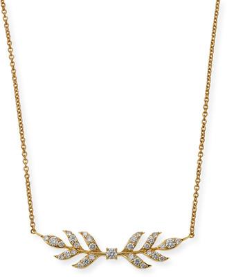 Roberto Coin x Disney's Frozen 2 18k Gold Wheat Necklace