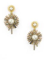 Elizabeth Cole Issey Earrings Pink