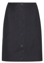 A.P.C. Monica Linen And Cotton Twill Miniskirt