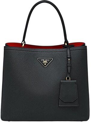 Prada Double Saffiano leather bag
