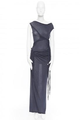 Rick Owens Blue Cotton Dresses