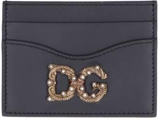 Dolce & Gabbana Smooth Leather Card Holder