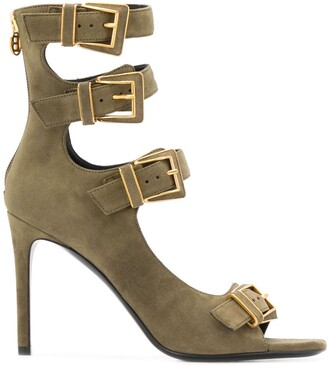 Balmain Paige buckled sandals