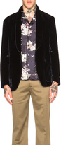 Marc Jacobs Hammered Velvet Jacket