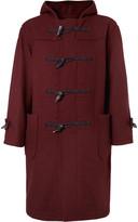 Camoshita Wool-Blend Felt Duffle Coat