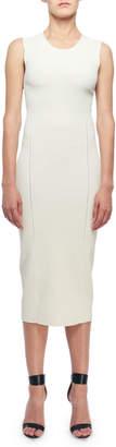 Victoria Beckham Sleeveless Open-Knit Midi Dress