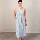 Indi & Cold - Mono Stripe Tierra Strappy Dress - X Large