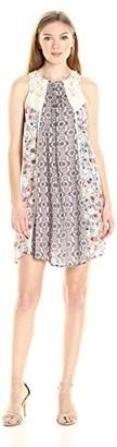 Taylor & Sage Women's Floral Mix Print Tank Dress