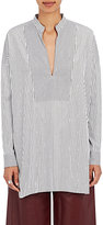 TOMORROWLAND Women's Mixed-Stripe Cotton Tunic Shirt