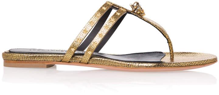 Alexander McQueen Double Strap Sandals