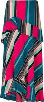 Etro striped A-line skirt - women - Silk - 40