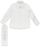 Marks and Spencer 5 Pack Girls' Easy to Iron Long Sleeve Shirts