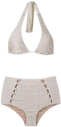 Adriana Degreas High Waisted Bikini Set