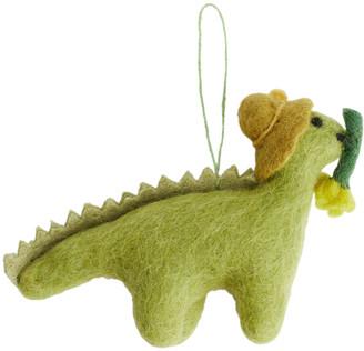 Arket Felt So Good Daphne Dinosaur Ornament