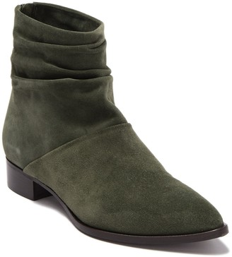 Alberto Fermani Ruched Ankle Boot